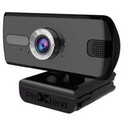 ProXtend X201, Full HD webkamera, mikrofon, USB, černá