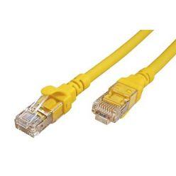 S/FTP patchkabel kat. 6a, Component Level, 0,5m, LSOH, žlutý