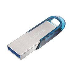 SanDisk Ultra Flair 128GB flash disk, USB 3.0, tropická modrá
