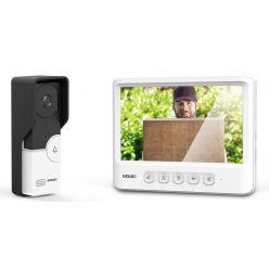 EVOLVEO Doorphone IK06, set video dveřního telefonu s pamětí a barevným displejem