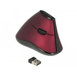 Delock bezdrátová vertikální optická myš, 1000dpi, USB