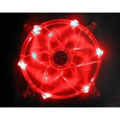 PRIMECOOLER PC-L18025L12S/Red, ventilátor, 18cm