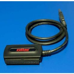 Roline Adaptér USB 2.0 -> SATA / IDE2,5 / IDE3,5