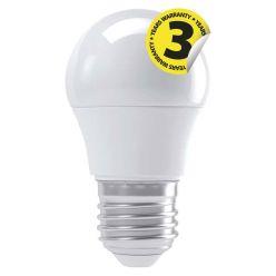 Emos LED žárovka MINI GLOBE, 4W/30W E27, WW teplá bílá, 330 lm, Classic A+