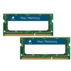 Corsair 2x4GB DDR3 1333MHz, CL9-9-9-24, pro Apple, SO-DIMM, 1.5V