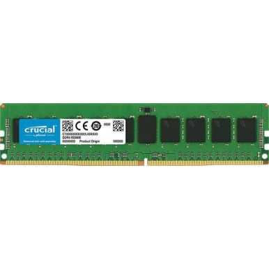 Crucial 16GB DDR4 2400MHz CL17, DRx8, DIMM