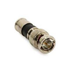 BNC konektor Platinum (kolík) - kompresní pro RG-6 ( černý )