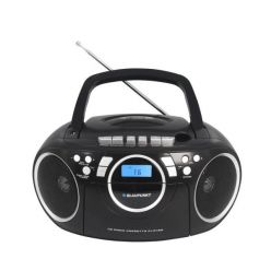 Rádiomagnetofon BLAUPUNKT BB16BK FM PLL CD/MP3/USB/AUX, kazety