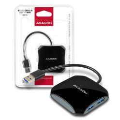 AXAGON Quattro 4-portový USB 3.0 hub, 16cm kabel