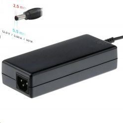 Akyga Nabíječka na notebook 12V/5A 60W 5.5 x 2.5 mm pro Mini PC, LED