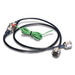 Kabel anténní prodlužovací N(M) - N(F) s ochranou proti přepětí, 1m