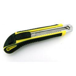 EuroLan nůž kovový vysouvací s aretací (4ks náhradních ostří)