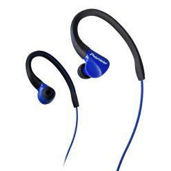 Pioneer závěsná sportovní sluchátka modrá