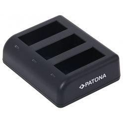 PATONA nabíječka pro 3 baterie GoPro Hero 9