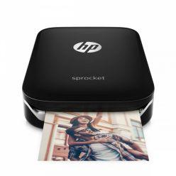 HP Sprocket kapesní fototiskárna, černá
