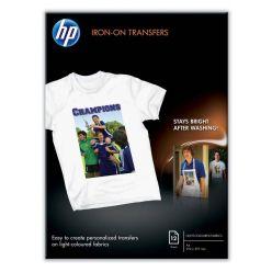 HP Iron-ON T-Shirt Transfers, A4, 12ks, nažehlovací papír na tkaninu