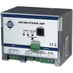 Napájecí zdroj/nabíječ BKE JSD-600-545/DIN_ODP na DIN lištu s dohledem 54,5 V, 600 W, 10 A, LAN port