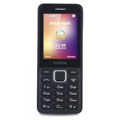 """myPhone 6310   2,4"""" /Dual SIM/černá"""
