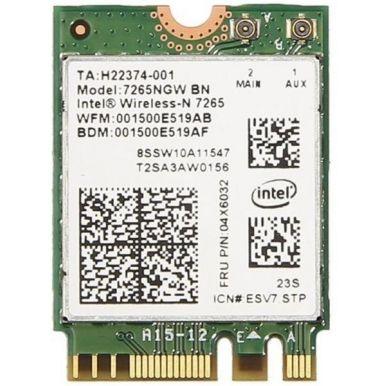 Intel Dual Band Wireless-AC 7265, 2x2 AC + BT, vPro, M.2