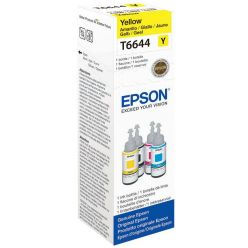 Epson T6644 žlutý inkoust, 70ml, pro L100/L200/L550 - originál