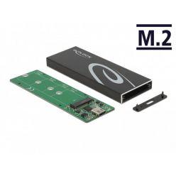 Delock externí box pro M.2 SSD (SATA), USB-C