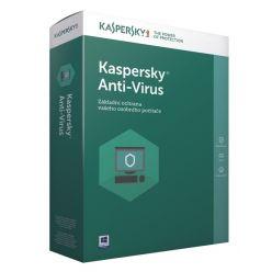 Kaspersky Anti-Virus CZ, 4PC, 1 rok, nová licence, elektronicky