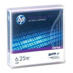 HP C7976A LTO-6 Ultrium 6.25TB MP RW Data Cartridge