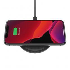Belkin 15W Bezdrátová plochá nabíječka + USB-C kabel, černá