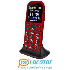 ALIGATOR A510 Senior červený-černý + stolní nabíječka