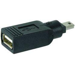 USB redukce USB A(f) - 5pin Mini B (M)