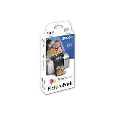 Epson C13T557040BH, ink čer + bar PicturePack