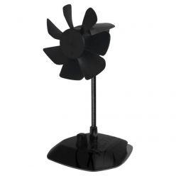 ARCTIC Breeze Color Edition Black, USB stolní ventilátor, černý