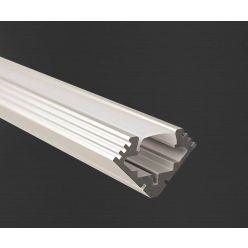 Hliníkový profil Prowax 45 - ALU anodizovaný, bez difuzoru - 2m