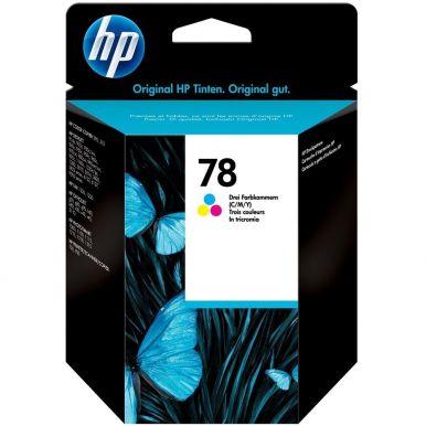 HP 78, barevná inkoustová cartridge, 19ml, C6578D