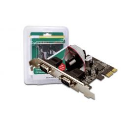 Digitus DS-30000, řadič 2x sériový port RS232, PCIe, Low profile