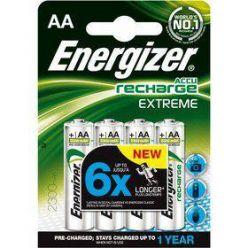 Energizer Recharge Extreme, AA, 4ks, Ni-Mh, 2300mAh, 1000 cyklů