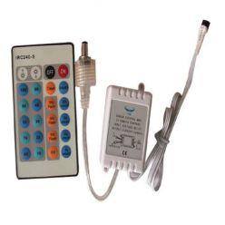 LED kontrolér MONO color Premium Line s IR dálkové ovládání - 24 tlačítek