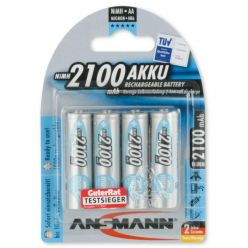 Ansmann maxE akumulátor AA NiMH 2100 mAh (4 ks)