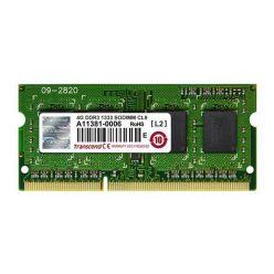 Transcend JetRam 4GB DDR3 1333MHz, CL9, SO-DIMM, bulk