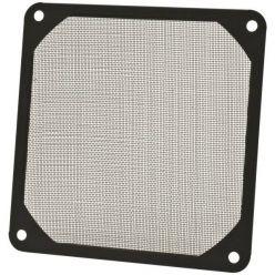 AKASA prachový filtr pro 140mm ventilátory, černý