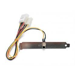 Napájecí redukce 12V pro LCD displej - záslepka
