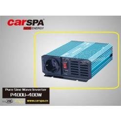 Carspa P400U-122 12V/230V+USB 400W