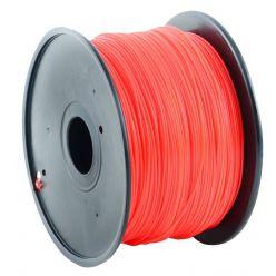 GEMBIRD 3D PLA plastové vlákno pro tiskárny, průměr 1,75 mm, červené