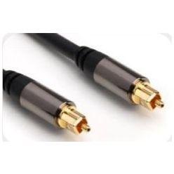 PremiumCord Kabel Toslink M/M, OD:6mm, Gold design  3m