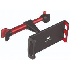 MISURA držák tabletu a mobilu do auta černo červený