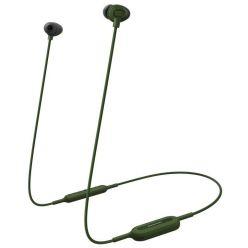 Panasonic RP-NJ310BE-G, bezdrátová sluchátka do uší, mikforon, Green