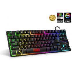 CONNECT IT NEO Compact klávesnice pro hráče, podsvícená, USB, CZ layout
