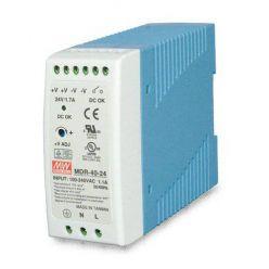 PWR-40-24 napájecí zdroj DIN, 24V, 40W, slim
