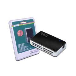 Digitus All-in-one USB 2.0 Čtečka karet, černá