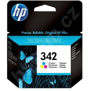 HP 342, inkoustová cartridge, barevná, 5ml